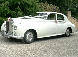 1962 Rolls Royce for weddings in Braintree